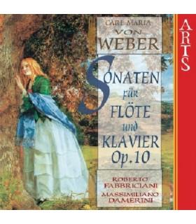 6 Sonates pour flûte et piano Op.10